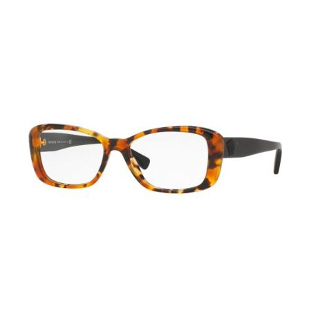 VERSACE Eyeglasses VE3228 260 Light Havana 52MM
