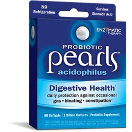 Acidophilus Pearls Enzymatic Therapy Inc. 90 Softgel