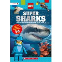 Lego Nonfiction: Super Sharks (Lego Nonfiction), Volume 7: A Lego Adventure in the Real World (Paperback)