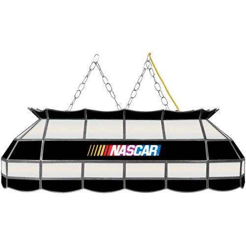 "Trademark Global NASCAR Logo 40"" Stained Glass Billiard"