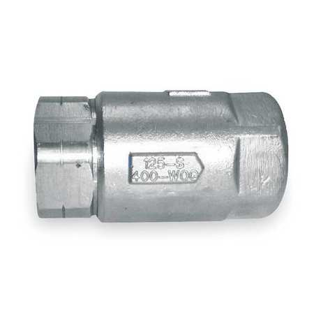 Apollo Ball Cone Spring Check Valve,1-1/2 In. 6210701