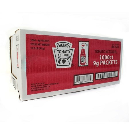 Heinz Tomato Ketchup 1000 Packets