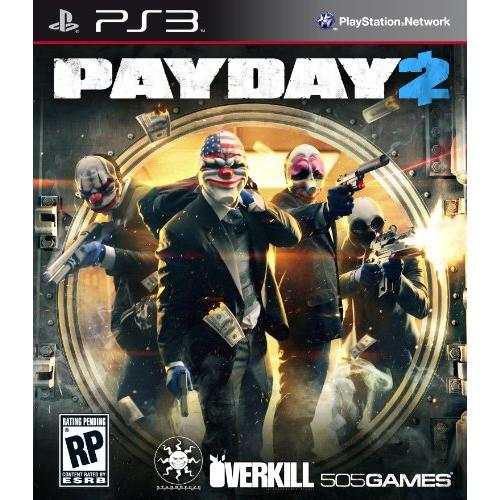 505 Games 71501424 Payday 2 Ps3
