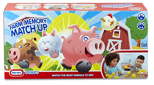 little tikes 3d farm memory match up board games