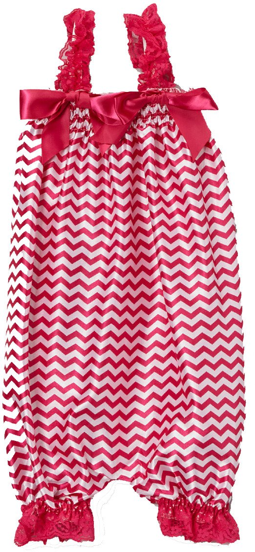 wenchoice Red Zigzag Bubble Romper Girls S