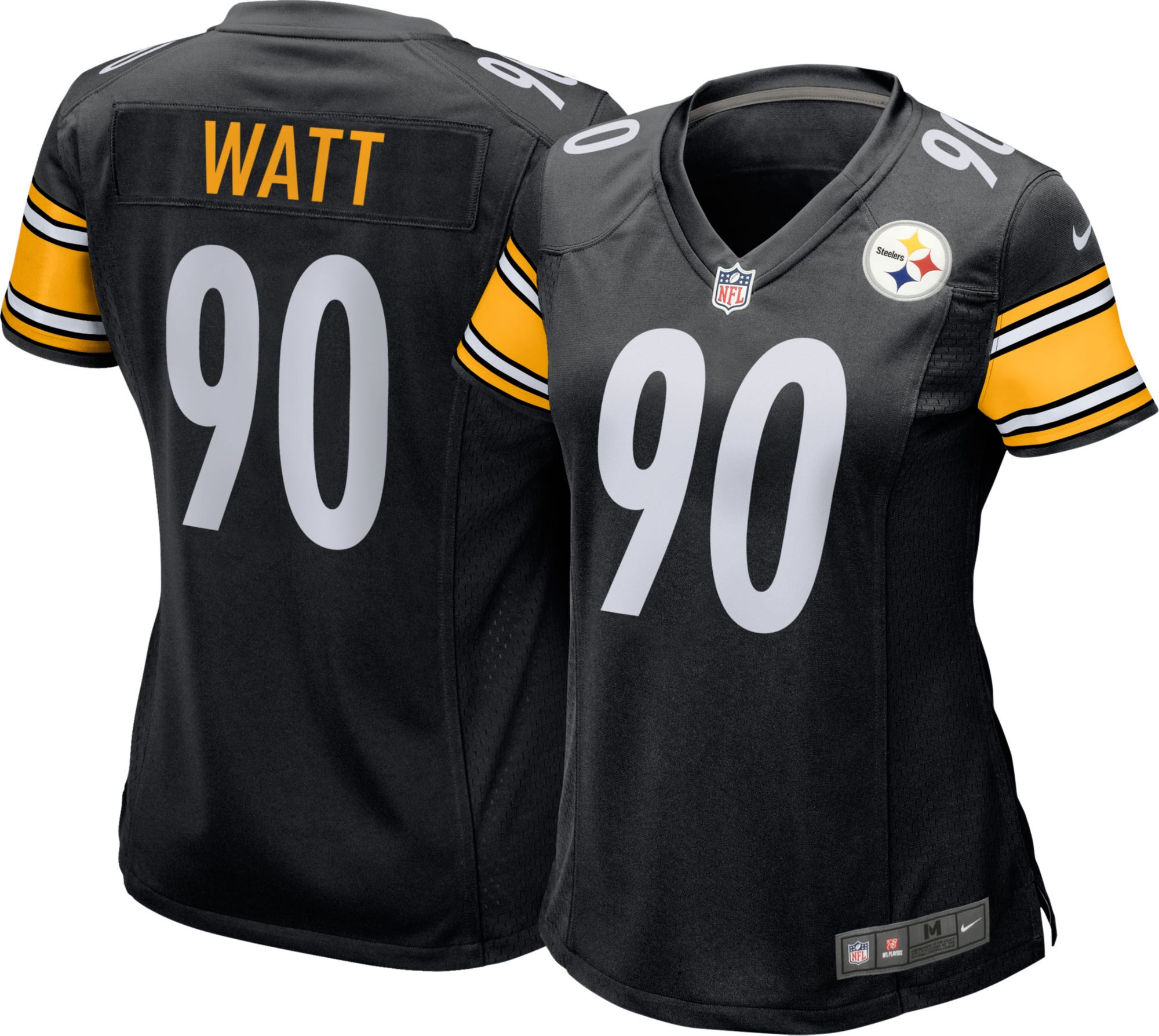 ad458eb0092 ... get nike womens home game jersey pittsburgh steelers t.j. watt 90 b6907  310d3