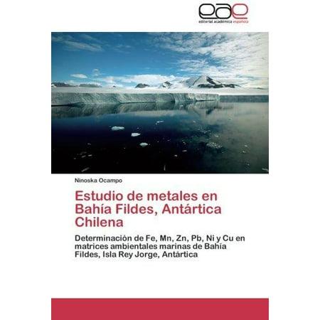 Estudio de Metales En Bahia Fildes, Antartica Chilena - image 1 de 1