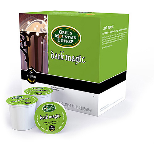 Keurig K-Cups, Green Mountain Dark Magic Coffee, 18ct