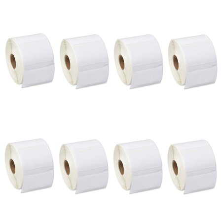 GREENCYCLE 8 Roll (1000 Labels/Roll) Medium White Multipurpose Label Compatible for Dymo 30334 2-1/4