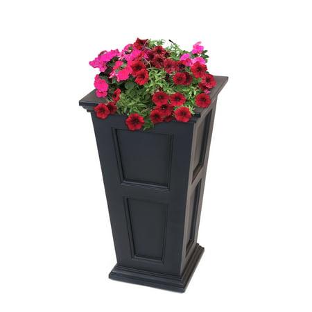 Fairfield Tall Planter Black ()