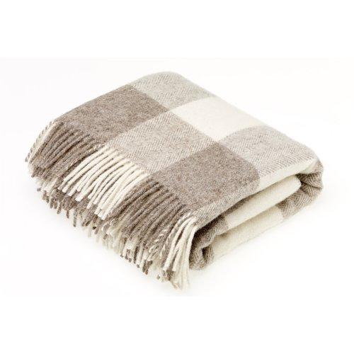 Gracie Oaks Bruning Wool Throw