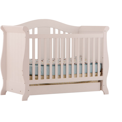 Storkcraft Baby Vittoria 3 in 1 Fixed Side Convertible Crib
