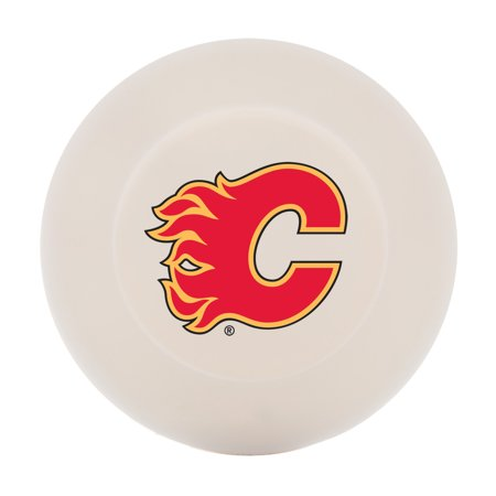 Franklin Sports NHL Calgary Flames Street Hockey Puck