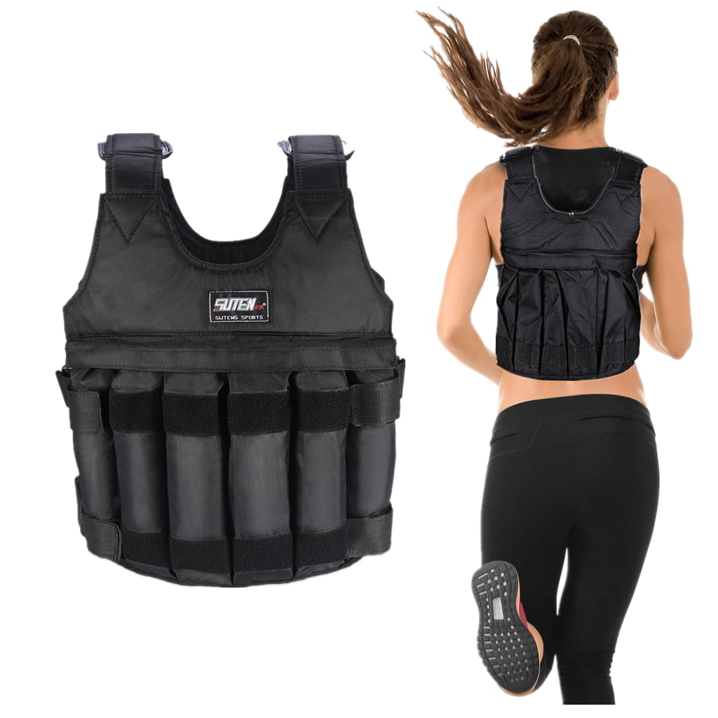 20 Kg Weight Vest Loss Gym Running fitness Weighted Jacket 12,14,16,18