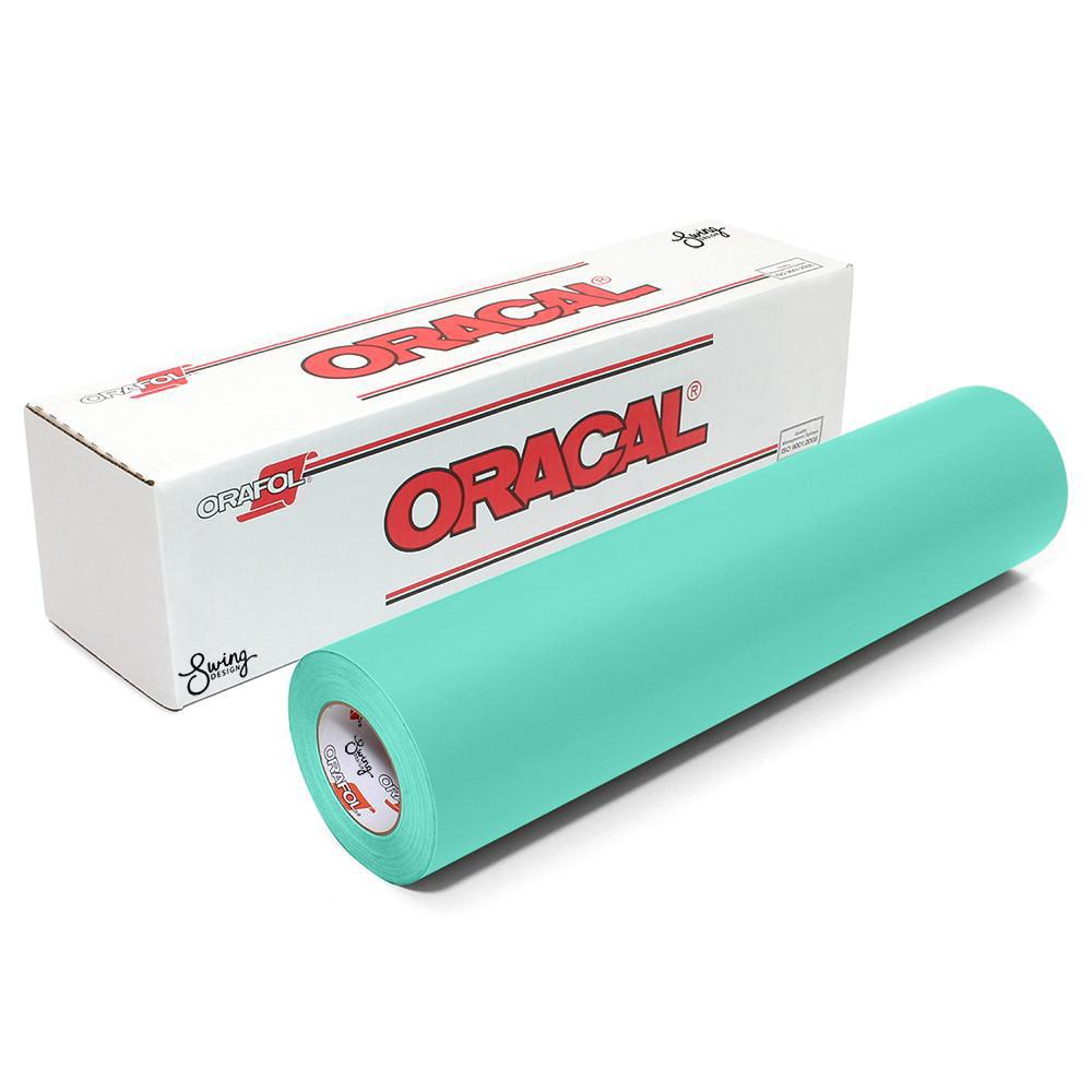 Oracal 631 Matte Vinyl Rolls - Mint