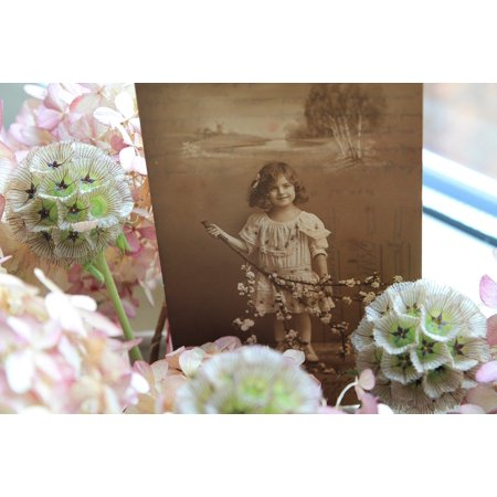 LAMINATED POSTER Nostalgic Nostalgia Photo Old Antique Child Poster Print 24 x 36 (Nostalgic Photo)