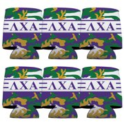 Lambda Chi Alpha Can Cooler Set of 6 - Army Camo Pattern