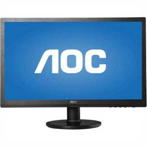 Refurbished AOC Monitor 20 Class Full HD 1920x1080 Wide Viewing Angle Panel VGA DVI-D Refurbished M2060SWD2-B