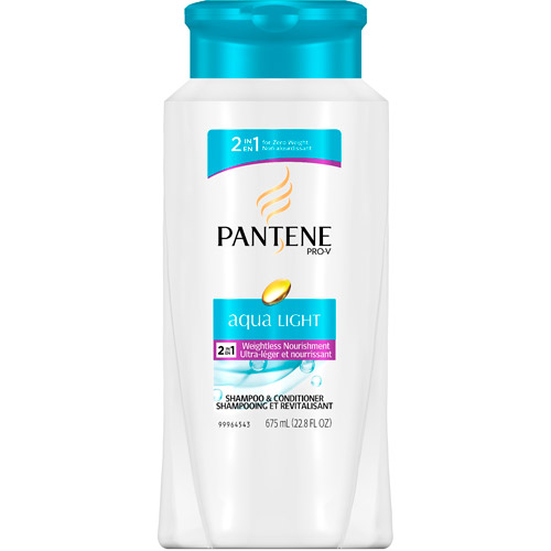 Pantene Pro-V Aqua Light Weightless Nourishment 2-in-1 Shampoo & Conditioner, 22.8 fl.oz.