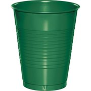 Touch of Color Plastic Cups, 16 Oz, Emerald Green, 20 Ct by CREATIVE CONVERTING