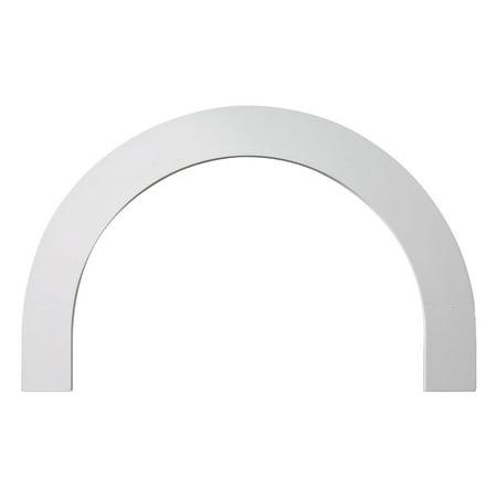"72""IW x 40""IH x 36""Radius Half-Round Arch Flat Trim"