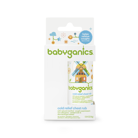 Babyganics Bg Cold Relief Chest Rub
