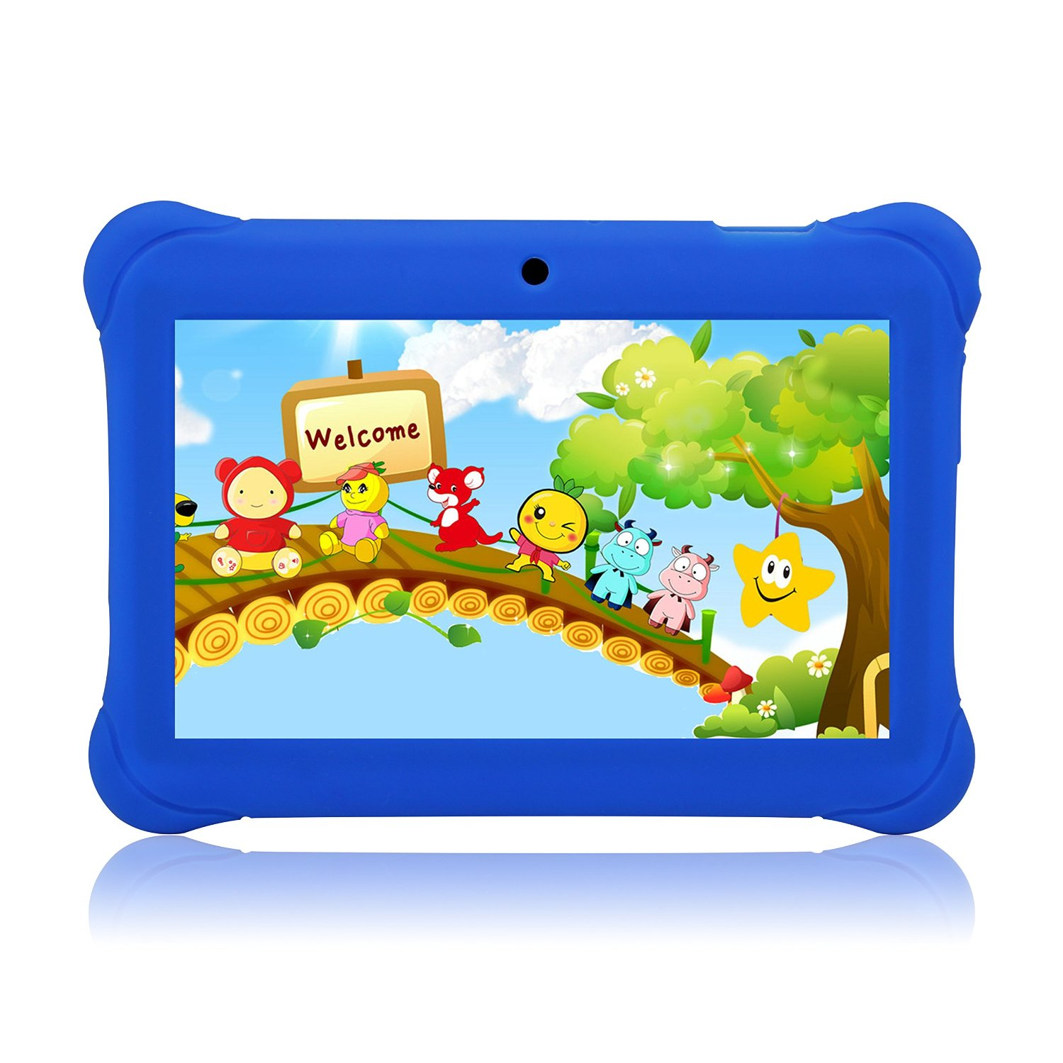 "Tagital® 7"" T7K Quad Core Android Kids Tablet, with Wifi and Camera and Games, HD Kids Edition with Kid Mode Pre-Installed"