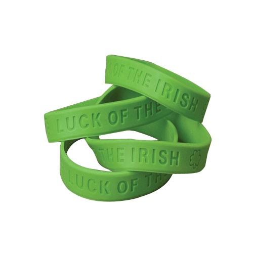(Price Dozen)US TOY SP121 St Pats Rubber Band Bracelet by US Toy