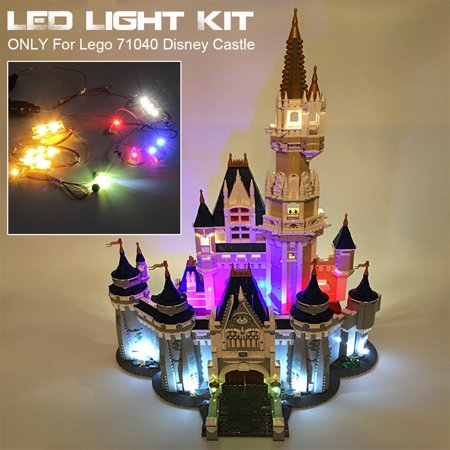 LED Light Lighting Kit Toys ONLY For Lego 71040 Disney Castle(Ordinary Edition) Brick (Model Not Inlcuded)