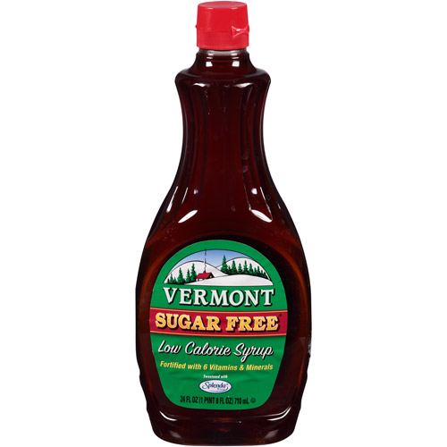 Vermont Sugar Free Low Calorie Syrup, 24 fl oz, (Pack of 6)