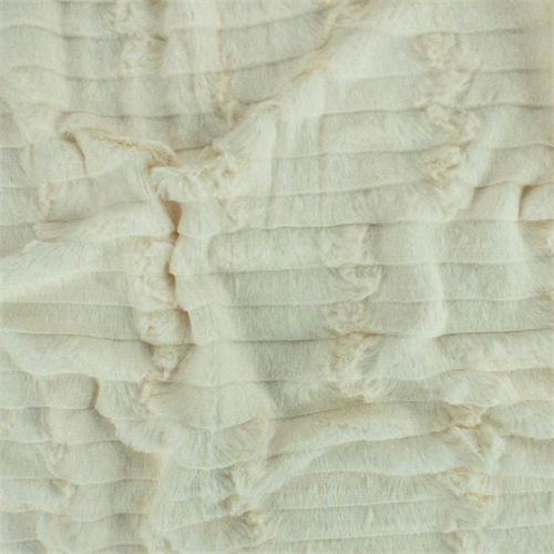 Cream White Ultra Soft Faux Fur, Fabric By the Yard