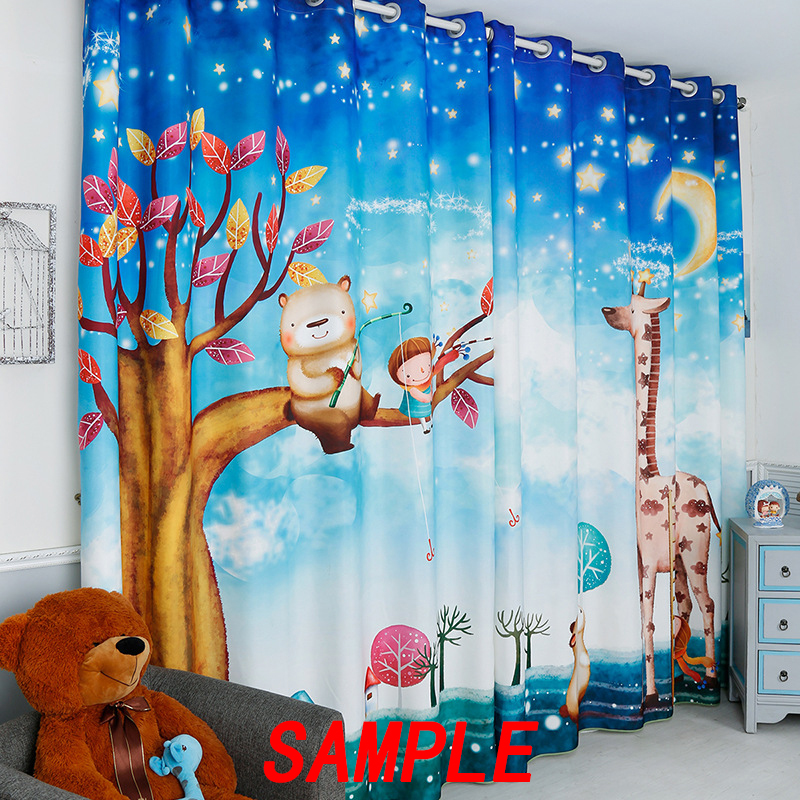 GCKG Funny and Cute Tiled Yellow Rubber Ducky Blackout Curtains Window treatment Panel Drapes 52(W)x84(H) inches (Two Piece) - image 3 of 4
