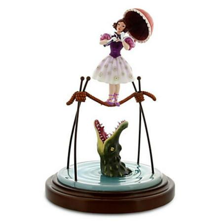 Disney The Haunted Mansion Figure Ballerina and Alligator new