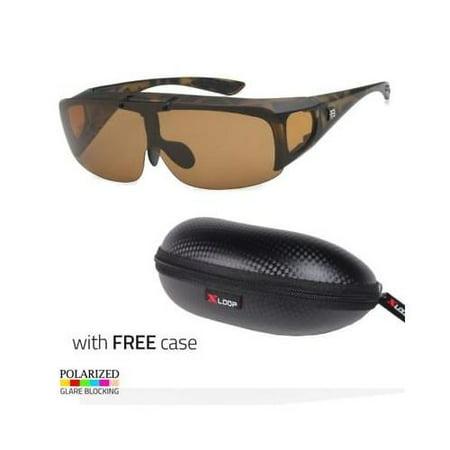 Polarized Sunglasses Cover Put Wear fit over Prescription Driving Torto CASE (How Much For Prescription Sunglasses)