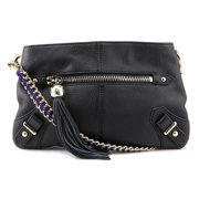 Dolce Vita Leather Contrast Suede Crossbody Women  Leather  Messenger