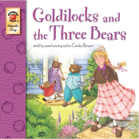 Goldilocks and the Three Bears - Three Bears Halloween Book