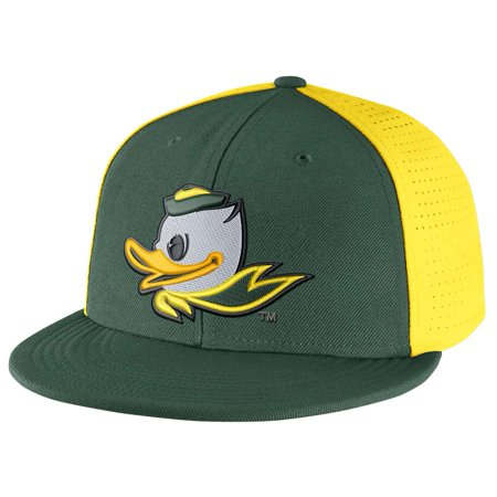Nike - Nike Oregon Ducks Players True Swoosh Flex Hat - Walmart.com 435d267516b0