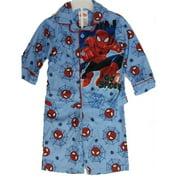 Little Boys Sky Blue Go Spidey Cartoon Inspired 2 Pc Pajama Set 2T-4T