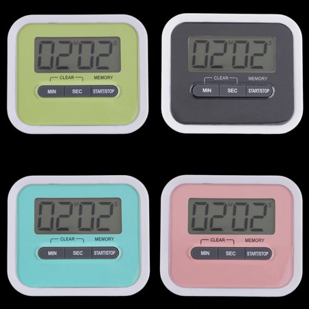 Fancyy Large LCD Digital Kitchen Cooking Timer Count-Down Up Clock Loud Alarm Green - image 11 of 12