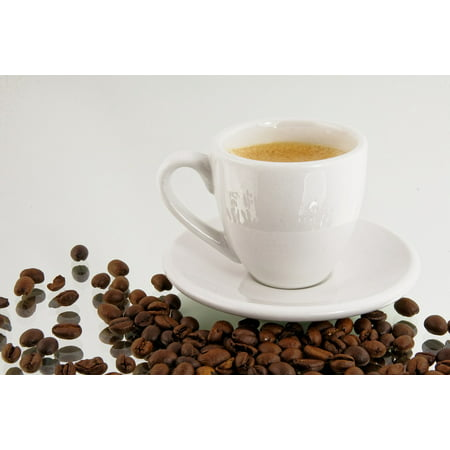 Canvas Print Beans Coffee Coffee Beans Cup Coffee Cup Espresso Stretched Canvas 10 x (Best Drip Coffee Beans)