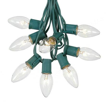 C9 Christmas String Light Set - Outdoor Christmas Light String ...