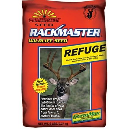 Rackmaster Refuge Clover  Brassica  Chicory Food Plot Seed Mix 5 Lbs