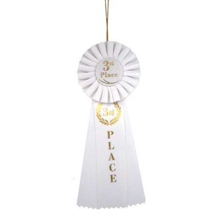 Deluxe 3rd Place Ribbon (Place Peaked Ribbon)