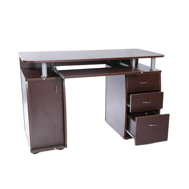 UBesGoo Wood Computer Desk PC Laptop Study Table Workstation Home