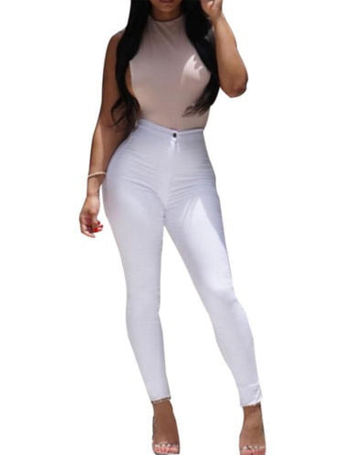 Casual Women Trousers Skinny Stretchy Jegging Pencil Pants Leggings