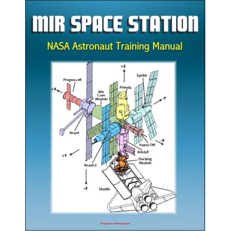 Mir Space Station NASA Astronaut Training Manual: Complete Details of Russian Station Onboard Systems, History, Operations Profile, EVA System, Payloads, Progress, Soyuz, Salyut - eBook