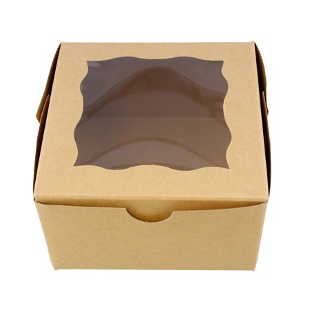 SpecialT | Bakery Boxes with Window – Cake Boxes Party Favor Boxes - Cake Favor Boxes