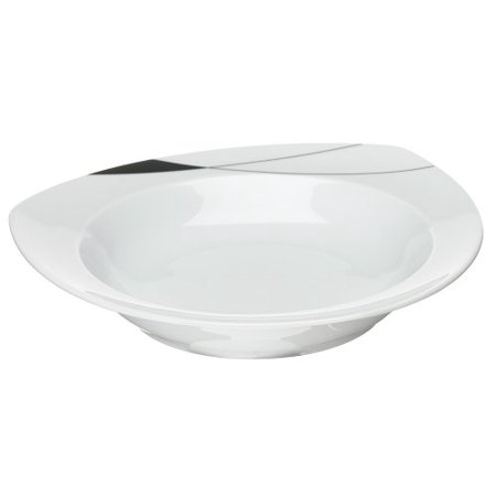 Thomas by Vario Triangle Triangular Rim Soup, Contains one 9-inch triangular porcelain rim soup By Rosenthal