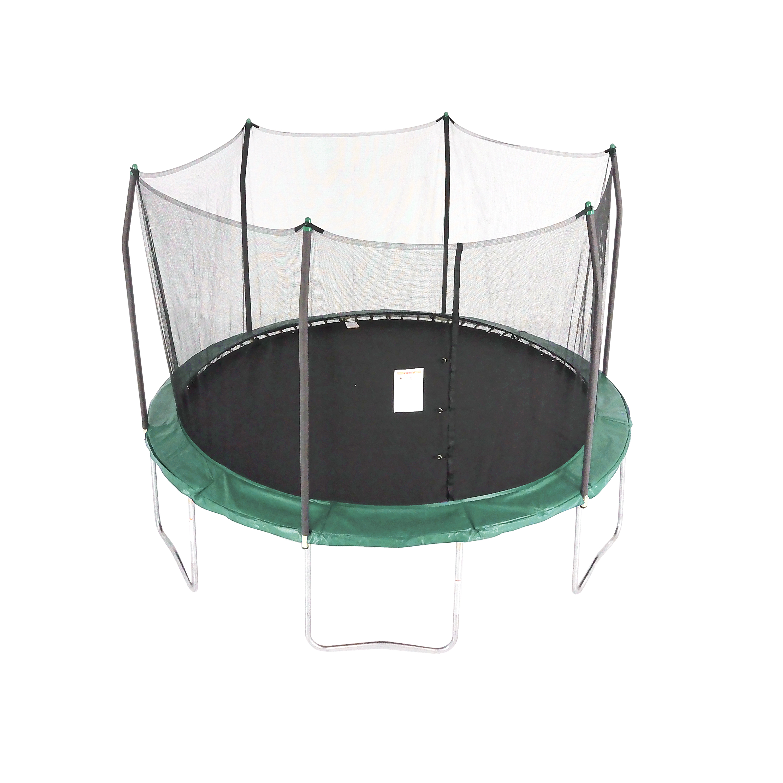 Skywalker Trampolines 12 Foot Trampoline With Safety Enclosure Blue Com