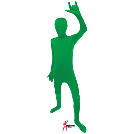 Original Morphsuits Green Kids Suit Solid Morphsuit](Girls Morphsuits)